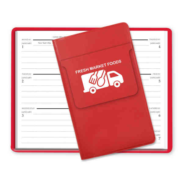 Weekly planner made of