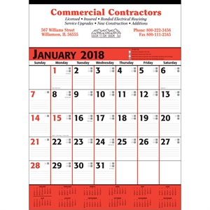 Promotional Contractor Calendars-372