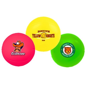 Mini vinyl basketball with