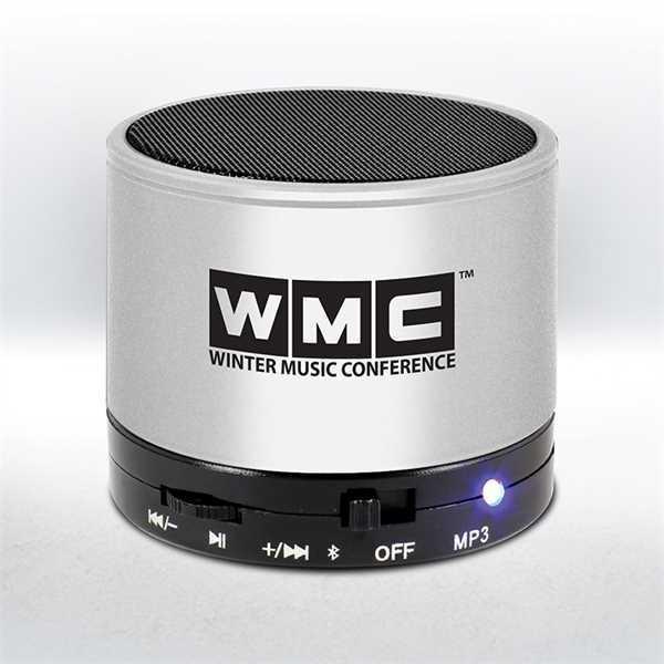 Portable Bluetooth speaker hands