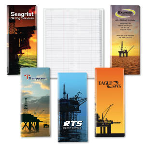 Oil rig tally book.