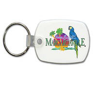Promotional Plastic Keychains-80-27060