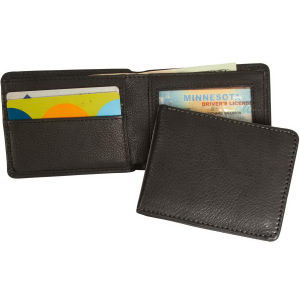 Wallet with simple slim-line
