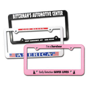 Promotional License Frames-40004