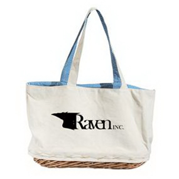 Basket bag.