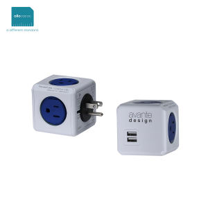 Surge-protected multiple outlet/USB power