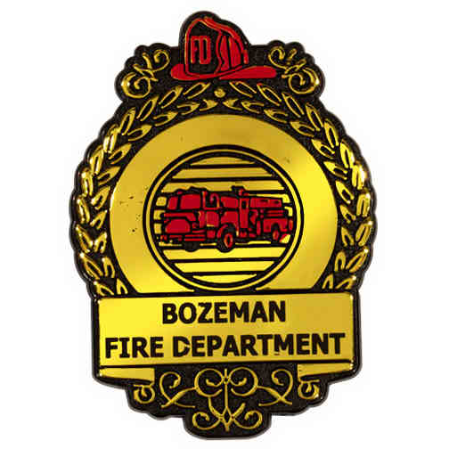 Fire Badge with clip