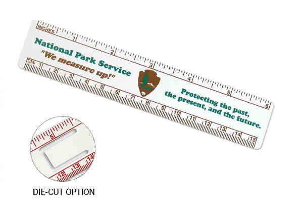 6-inch ruler made of