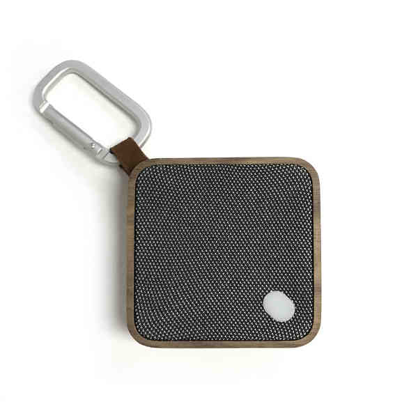 Wood casing bluetooth speaker.