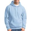 Hooded pullover sweatshirt with