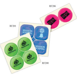 Promotional Labels, Decals, Stickers-RF201