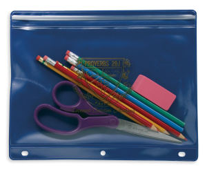 Pencil cases with pinch
