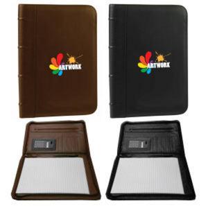 Soft G-9 leatherette padfolio
