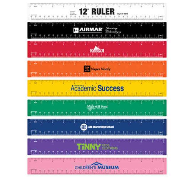 12 Inch Plastic Ruler