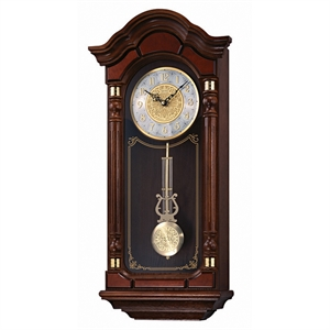 whittington wooden battery pendulum westminster clock seiko dark quartz watches chime wall dp hourly