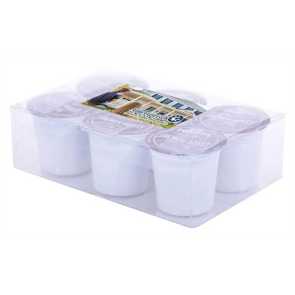 6-cup pack of single