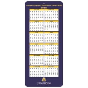 Year calendar on a