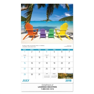Promotional Desk Calendars-RWC