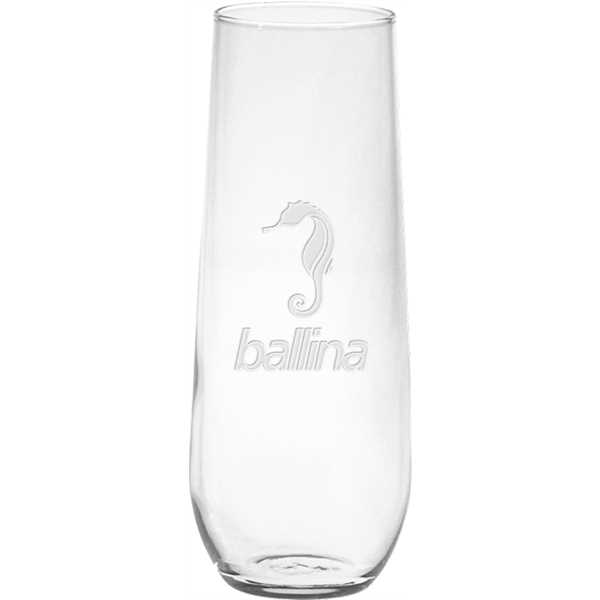 8.5-ounce Vina stemless glass