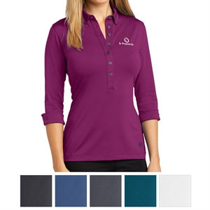 Promotional Button Down Shirts-LOG122