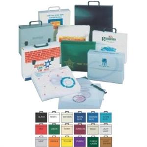 Polyethylene box with two