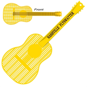 Large guitar shape fly