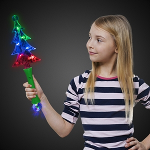 Plastic, LED Christmas tree