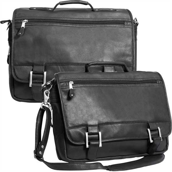 Expandable briefcase with heavy