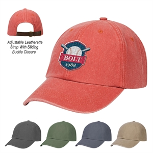 Embroidered - Six-panel cap