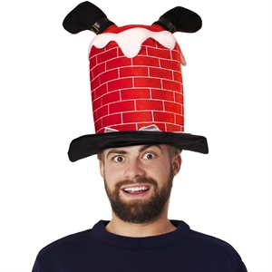 Novelty hat with Santa