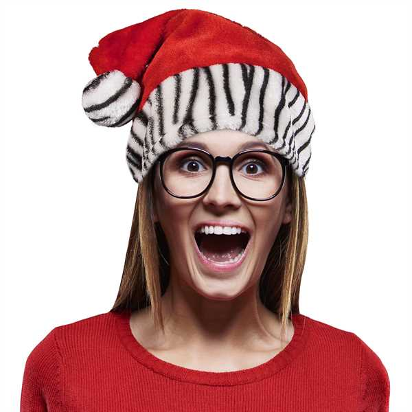 Santa Claus hat with