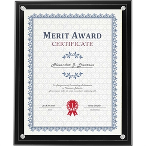 Certificate Holder - Clear