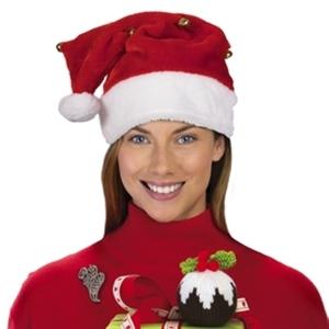 Plush Santa Claus hat