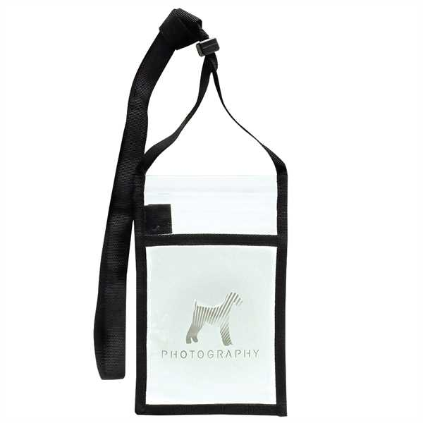 Clear badge holder with