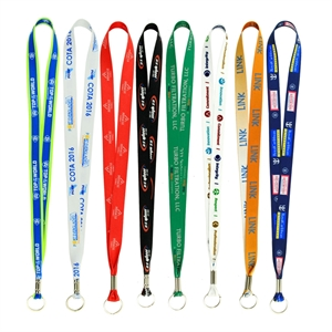 Lanyard with full color