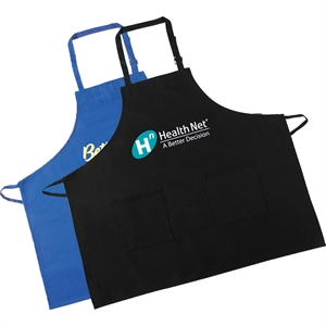 Kitchen bib apron with