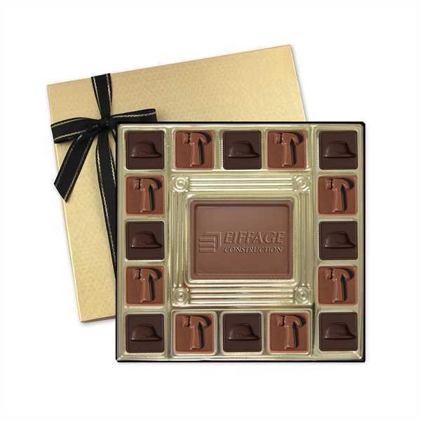Chocolate in window box