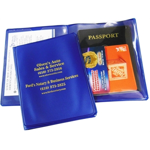 Promotional Passport/Document Cases-