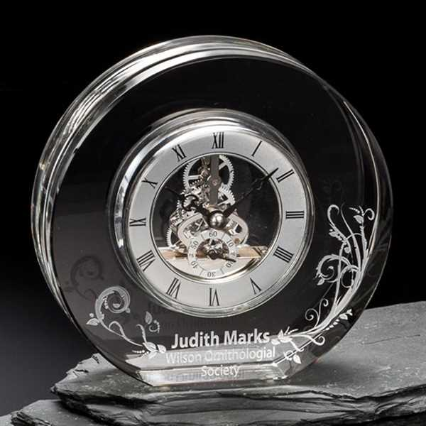 Clock made of optical