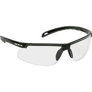 Lightweight safety glasses with