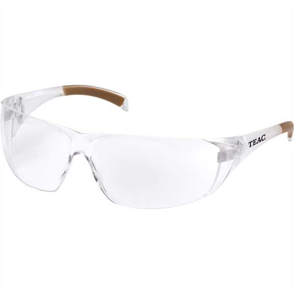 Safety glasses featuring padded