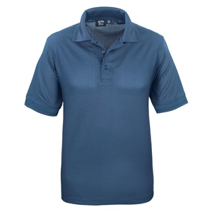 Promotional Polo shirts-1376-BKW