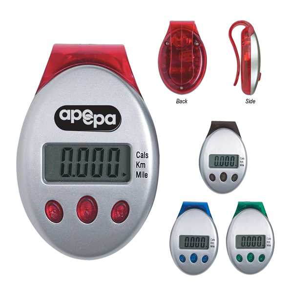 Deluxe multi-function pedometer with