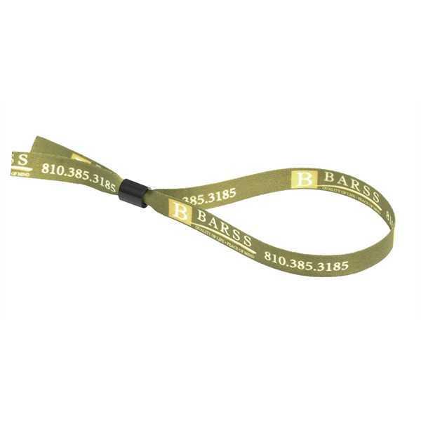 Slider wristband is adjustable