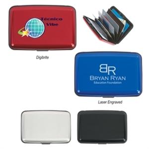 Aluminum Card Case.