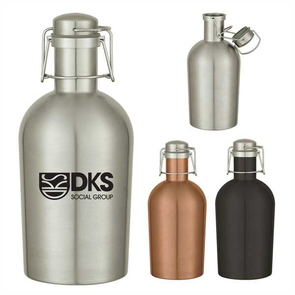 64 Oz. Stainless Steel