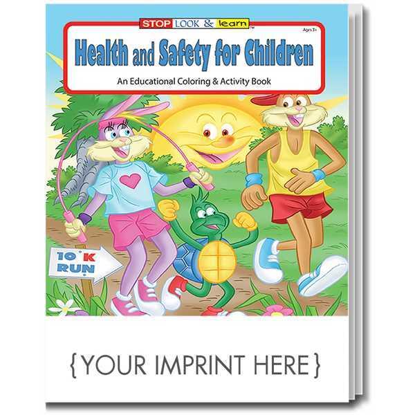 COLORING BOOK SET: Health