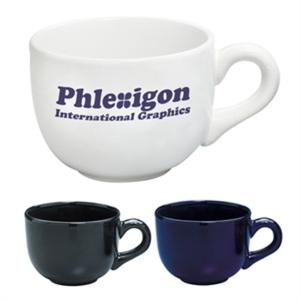Ceramic soup mug, 15