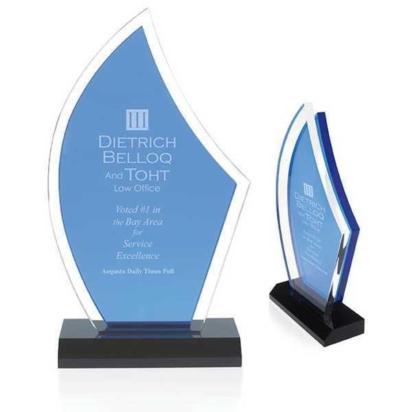 Acrylic Sailboat Award. 5