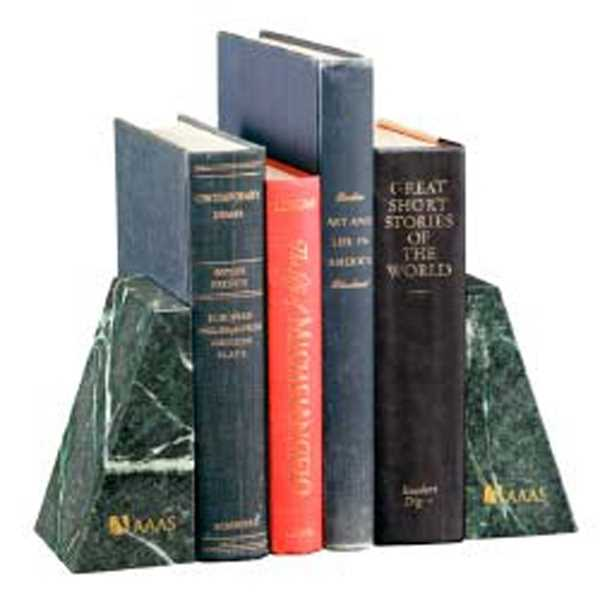Verde Marble Bookends. Size,